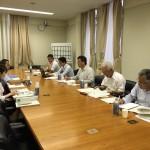 都市建設常任委員会 行政視察 第1日目(京都市役所)
