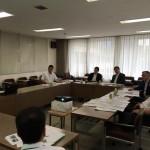 行政視察2日目は、大阪の高槻市。「総合雨水対策アクションプラン」