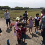 子供たちと田植え体験