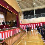 入学式(栄小学校・桜中学校)