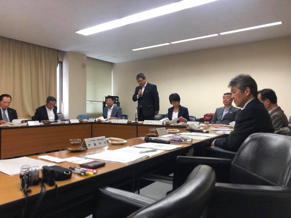 行政視察第1日目 小松島市議会