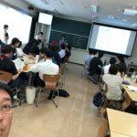 自民党のパーティー ~ 学生インターン交流会