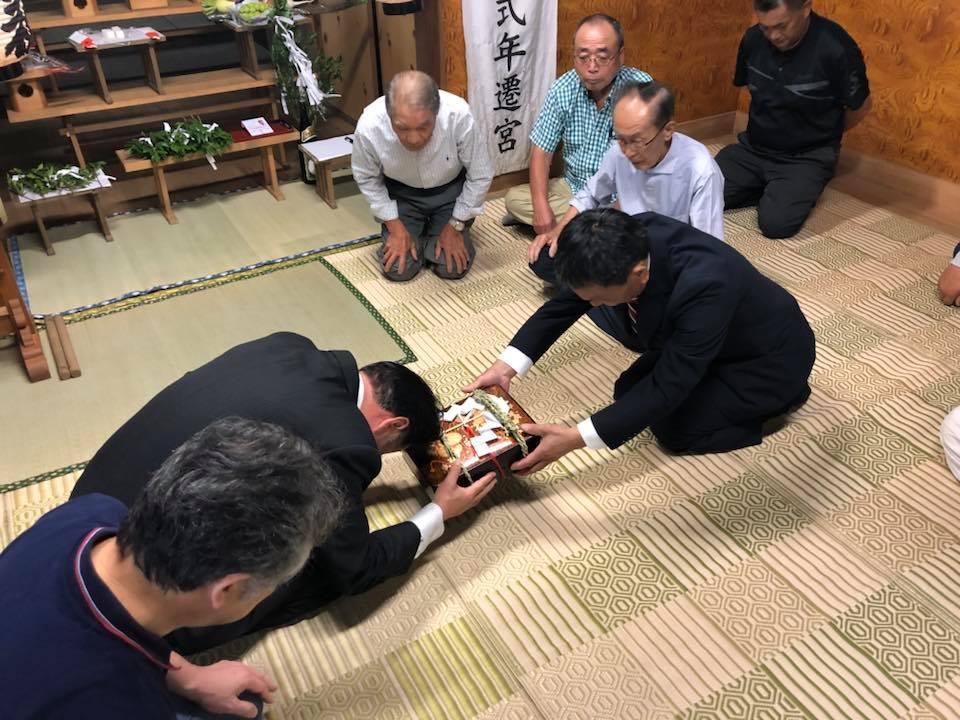 吉瀬の185年続く 鹿島神社の大例祭