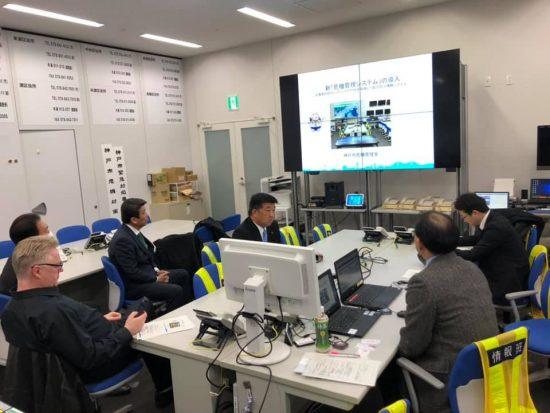 行政視察 神戸市の新「危機管理システム」